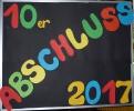 Abschluss der 10. Klassen 2017